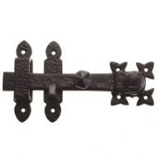 Foxcote Foundries FF55 Gate Latch Black Antique